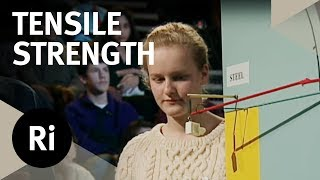 Tensile Strength Challenge: Cotton vs. Steel - Christmas Lectures with Charles Stirling
