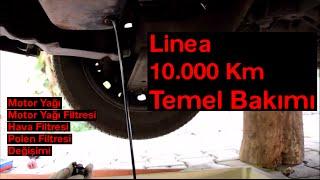 Fiat Linea 1.3 Multijet Dizel Motor Yağı Değişimi
