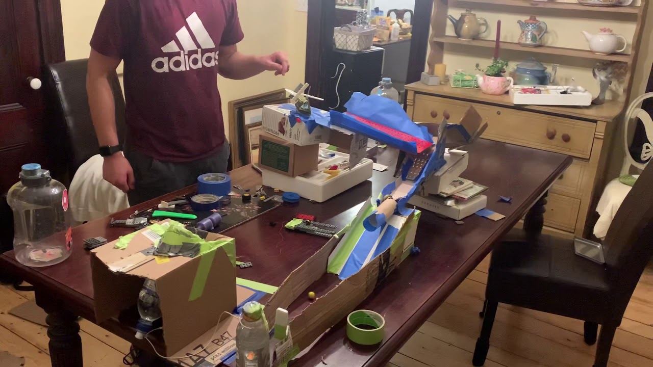 Rube Goldberg Machine Project (For school)