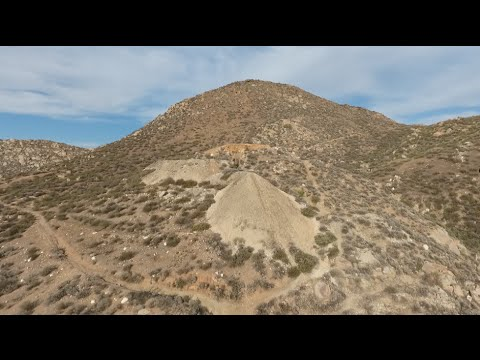 Looking at a Gold Mine with a DJI Phantom 4 Drone