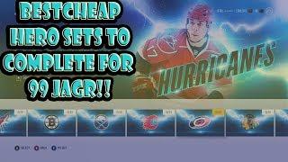 NHL 18 HUT BEST Hero Sets To Complete For 99 Jagr!