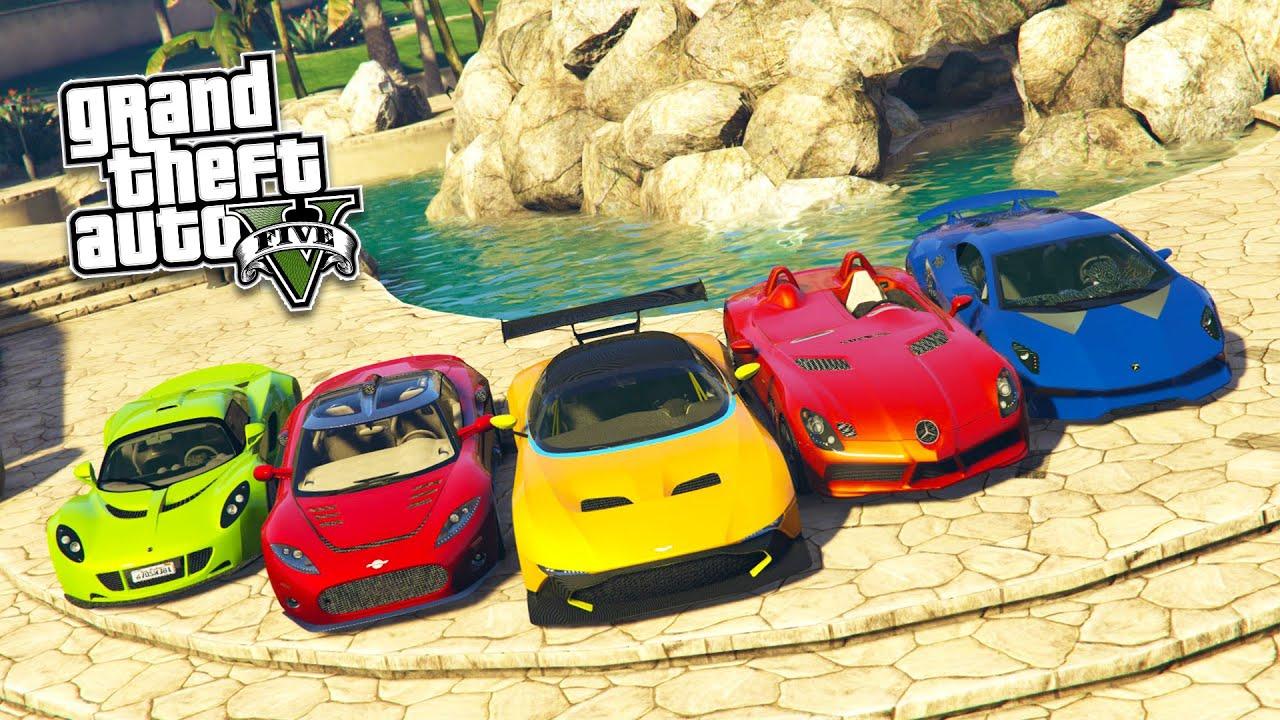 REAL LIFE CARS MOD #7! GTA 5 Real Cars Mod