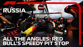 Red Bull At Their Brilliant Best: Fastest Pit Stop | 2020 Russian Grand Prix | DHL