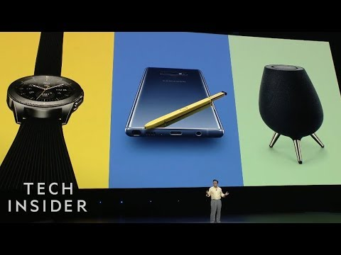 Everything Samsung Just Announced — Galaxy Note 9, Fortnite, & More