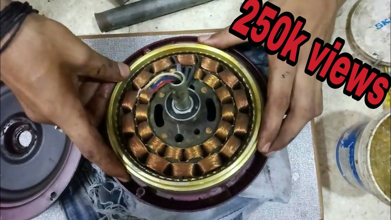 Fan Ki Bearing Kaise Change Ki Jaye Fan Repairing