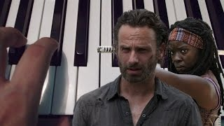 The Walking Dead / Piano Tutorial / Notas Musicales / Cover
