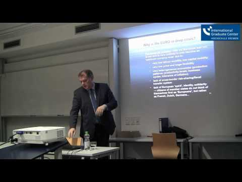 'The End of the Euro - the End of the EU?', Lecture by Prof. Dr. Andreas Knorr