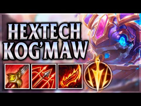 VOMIT BARRAGE LEAVES ASSASSINS HUMILIATED! Hextech Kog'Maw Jungle - League of Legends Commentary