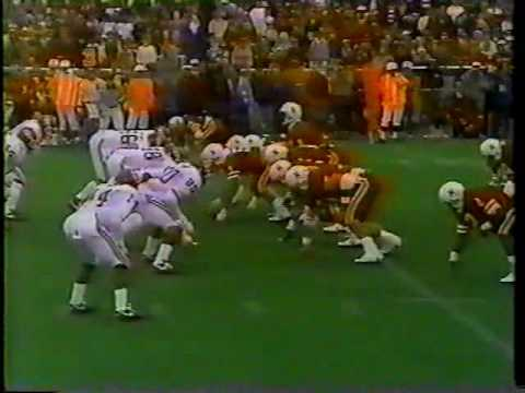3 Oklahoma at #5 Nebraska - 1986 - Football - Part 1 - YouTube