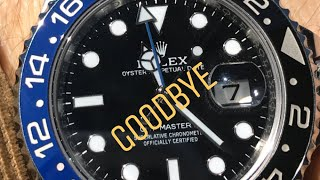 Rolex Batman GMT 116710BLNR discontinued in favor of new version