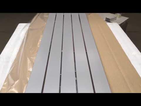 Zen 1500x374 mm, RAL 9006 | HOTHOT Radiators