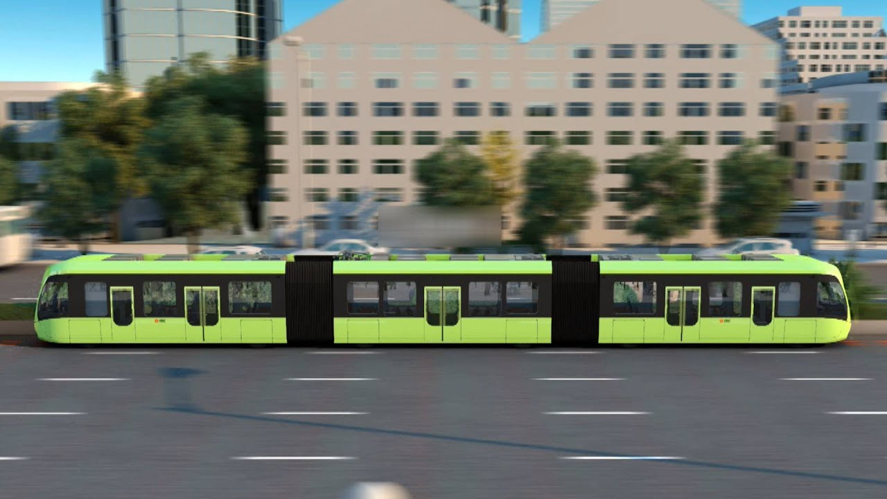 Αποτέλεσμα εικόνας για World's first virtual train track unveiled in central China