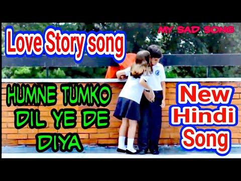 Humne Tumko Dil Ye De Diya Ye Bhi Na Pucha Kon Ho Tum. Love Story Song. New Hindy Song.