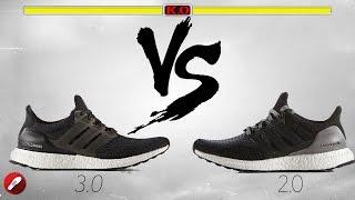 Adidas Ultra Boost Triple White 1.0 Vs 2.0