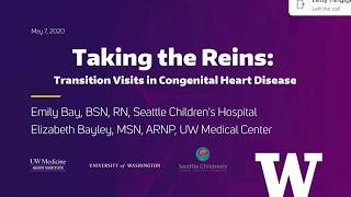 CE: NGR: Taking the Reins – The Importance of Transition Visits in Congenital Heart Disease