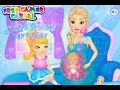 Elsa Womb Baby Play - Frozen Elsa New Baby Game