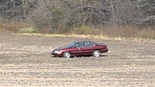 50 pounds of exploding target versus chevy lumina (part 1 of 2)