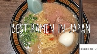 Best Ramen in Japan: Ichiran Ramen
