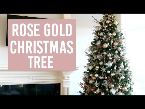 DECORATE WITH ME | CHRISTMAS TREE HOW TO!