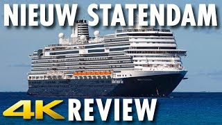 Nieuw Statendam Tour & Review ~ Holland America Line ~ Cruise Ship Review [4K Ultra HD]