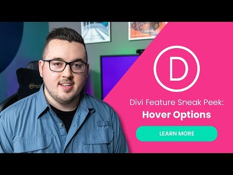Divi Feature Sneak Peek: Hover Options