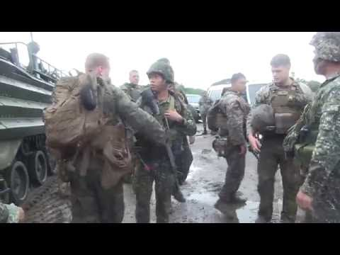 US and Philippine Marines Joint Amphibious Assault Exercise