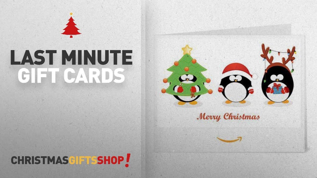 Christmas Gift Cards - E-mail Or Print At Home | Christmas 2017