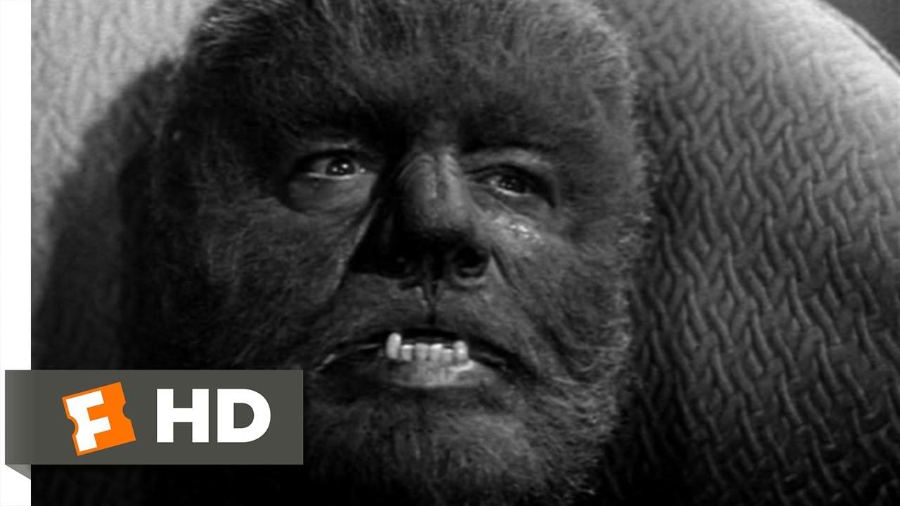 Abbott and Costello Meet Frankenstein (1/11) Movie CLIP - The Wolf Man Transforms (1948) HD