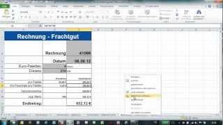 Excel - Zellen und Formeln schützen - Blattschutz