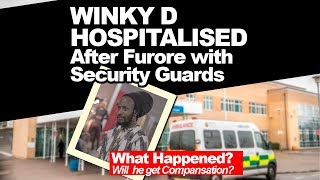 Winky D Hospitalized After Furure With Security Guards at OK Grand Challenge, What Happened?