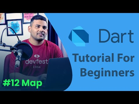 Dart Map - #12 Dart Programming Tutorial for Beginners