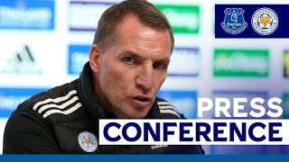 'Our Momentum Is Good' - Brendan Rodgers | Everton vs. Leicester City | 2020/21