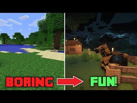 Turning Minecraft Into An Immersive RPG Experience