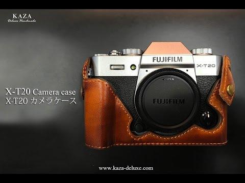 富士XT20 用カメラケース Fujifilm X T20 xt20 相機皮套 Leather case by KAZA