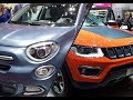 Jeep Compass vs Fiat 500X