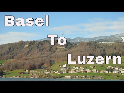 Basel To Luzern/Lucerne By Train