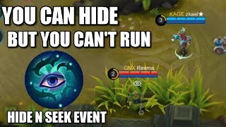 CAN YOU REALLY HIDE FROM ZKAEL? HIDE N SEEK EVENT RESULT