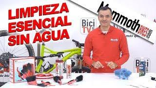 Cómo limpiar una bicicleta sin agua. Zonas esenciales