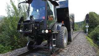 Hydrema 170 bar / 6500 liter høytrykksspyler for jernbanestikkrenner / culvert cleaner