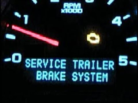 Service Trailer Brake System Duramax Silverado Youtube