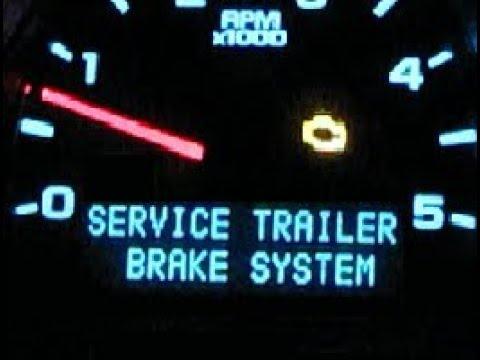 09 Chevy Silverado Wiring Diagram Brake Controller Service Trailer Brake System Duramax Silverado Youtube