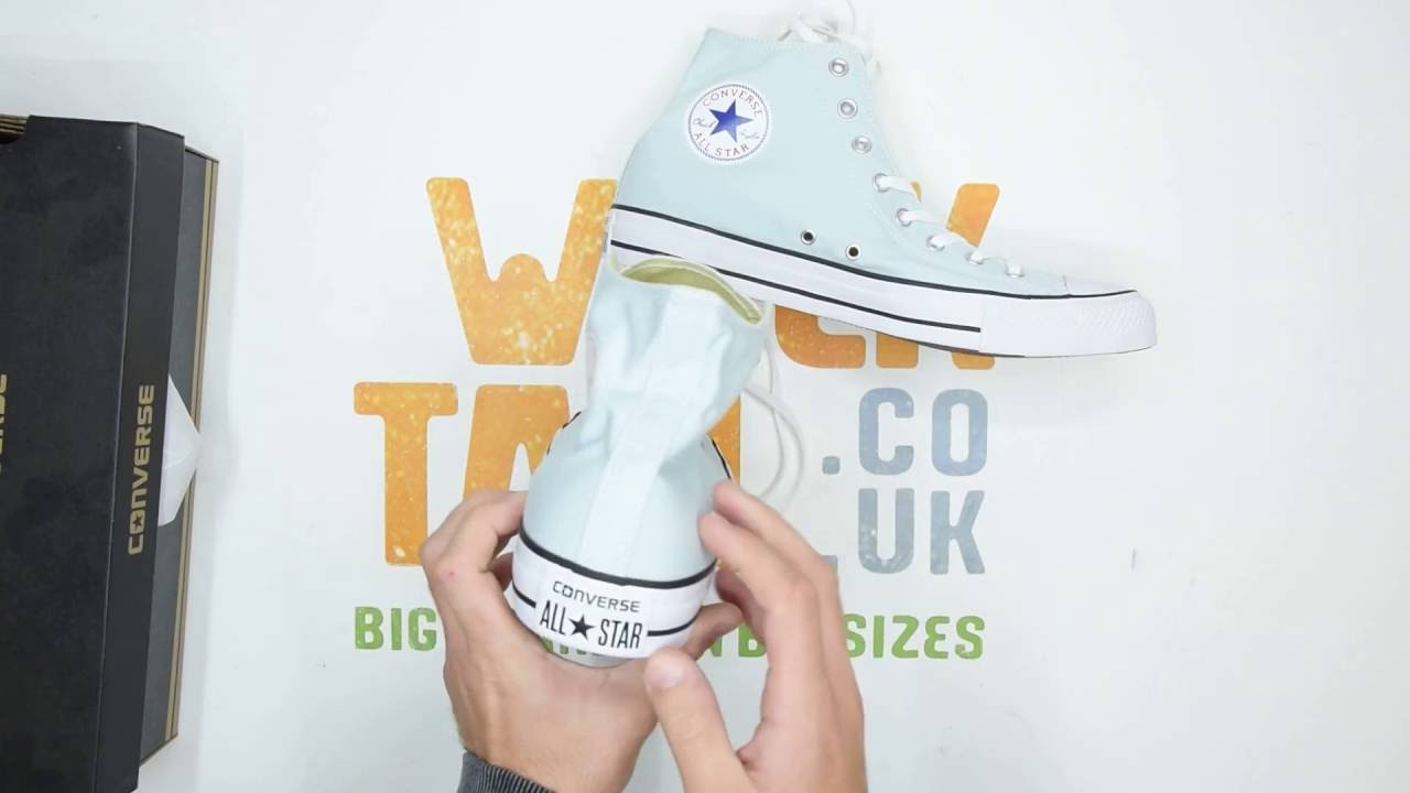 4403fe10b052f5 Converse All Star Hi-Top - Polar Blue - Unboxing