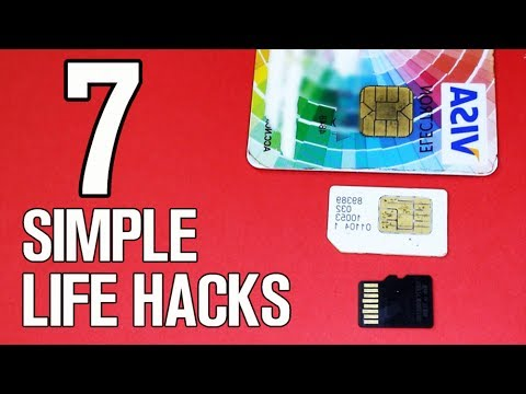 7 Simple Life Hacks & Ideas