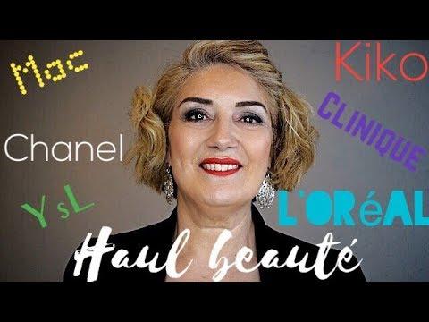 Beauté 50 ans et + : HAUL PRODUITS BEAUTE 🌹 Huda Beauty, YSL, Chanel, Mac et bien d'autres