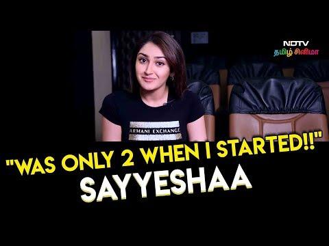 Sayyeshaa On NAILING Prabhudheva's MASTANA MASTANA !! | Vanamagan
