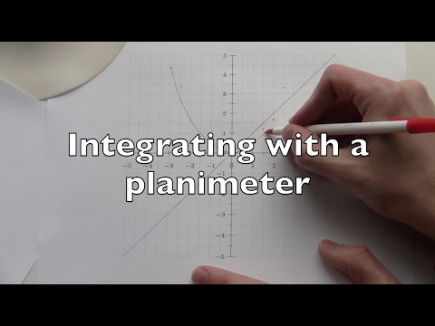Integrating With A Planimeter