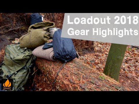 Gear Highlights of 2018 - Loadout - Old faces and new friends - Bushcraft Gear