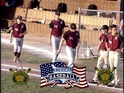 PA American Legion Baseball Tournament Uniontown v. Ambridge 7/17/17