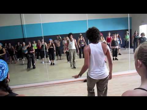 Blake TV of Zumba in San Diego at Fabio Master Classes