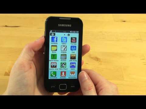 Samsung Wave 533 Test Bedienung